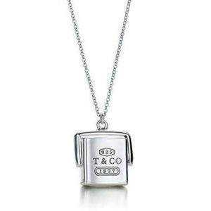 Tiffany & Co 1837 Box Pendant
